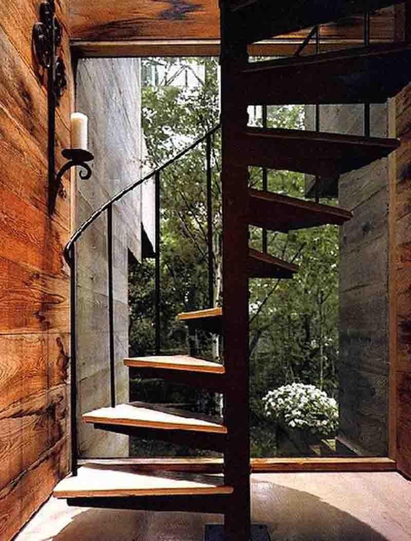 Escaleras caracol herreria de vanguardia venta de for Escalera caracol interior casa