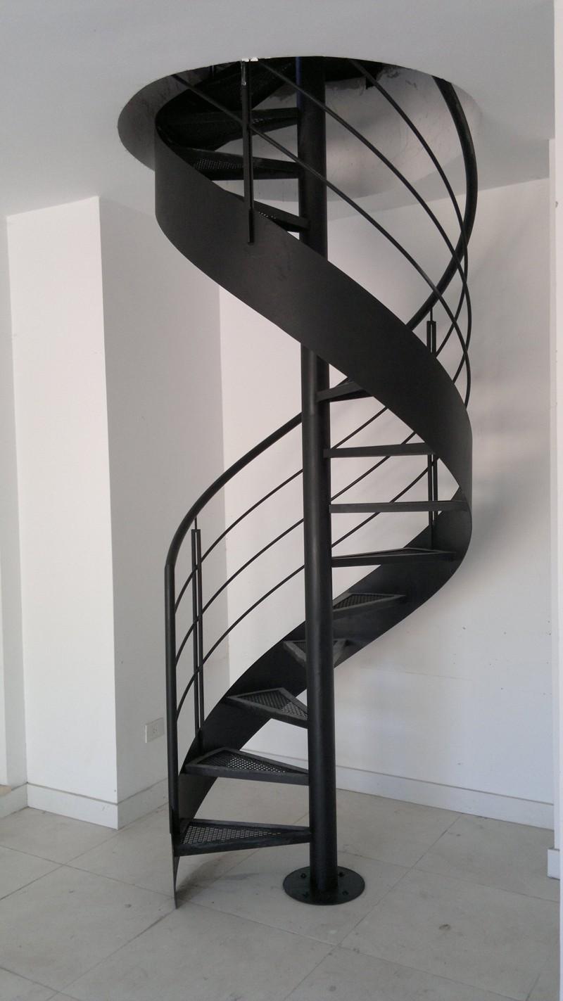 Escaleras caracol herreria de vanguardia venta de - Precio escalera caracol ...