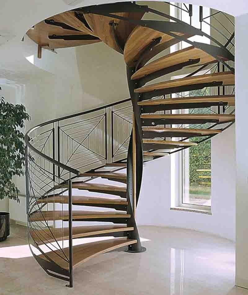 escaleras helicoidales herreria de vanguardia venta de escaleras y barandas novo design. Black Bedroom Furniture Sets. Home Design Ideas