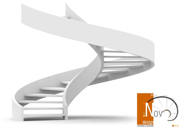 Herreria de vanguardia venta de escaleras y barandas - Escaleras semi caracol ...